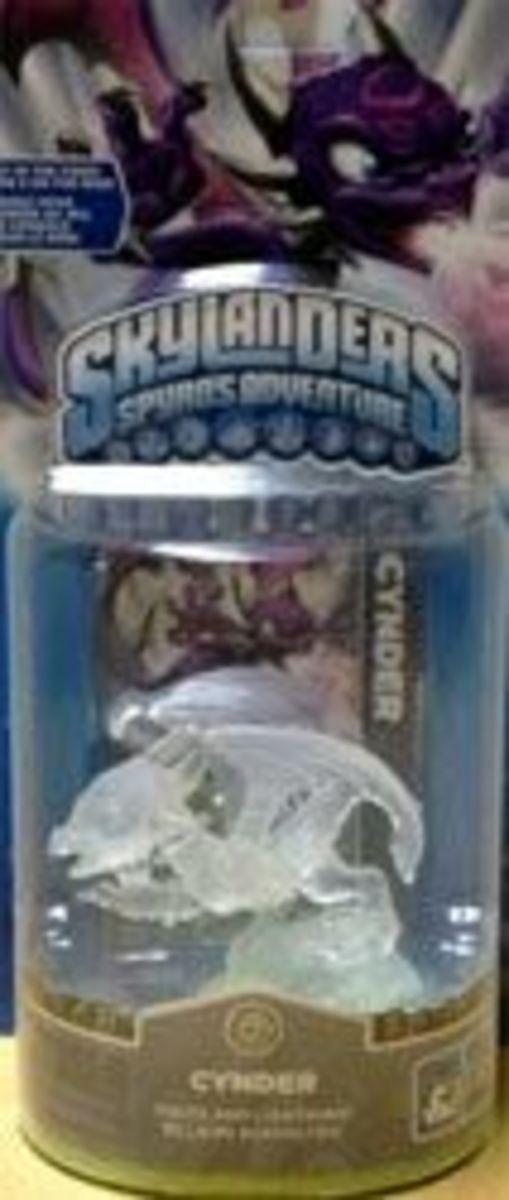 Skylanders Crystal Clear Cynder