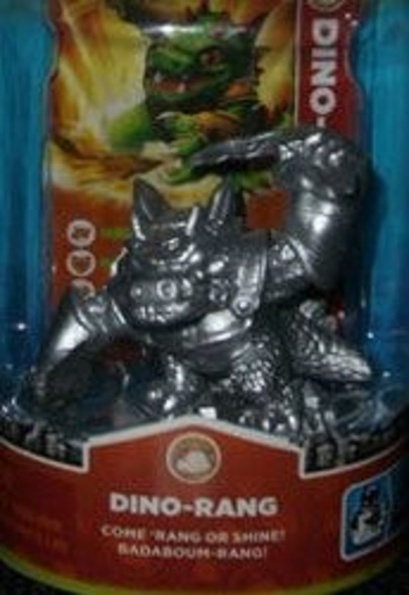 Skylanders Silver Dino Rang