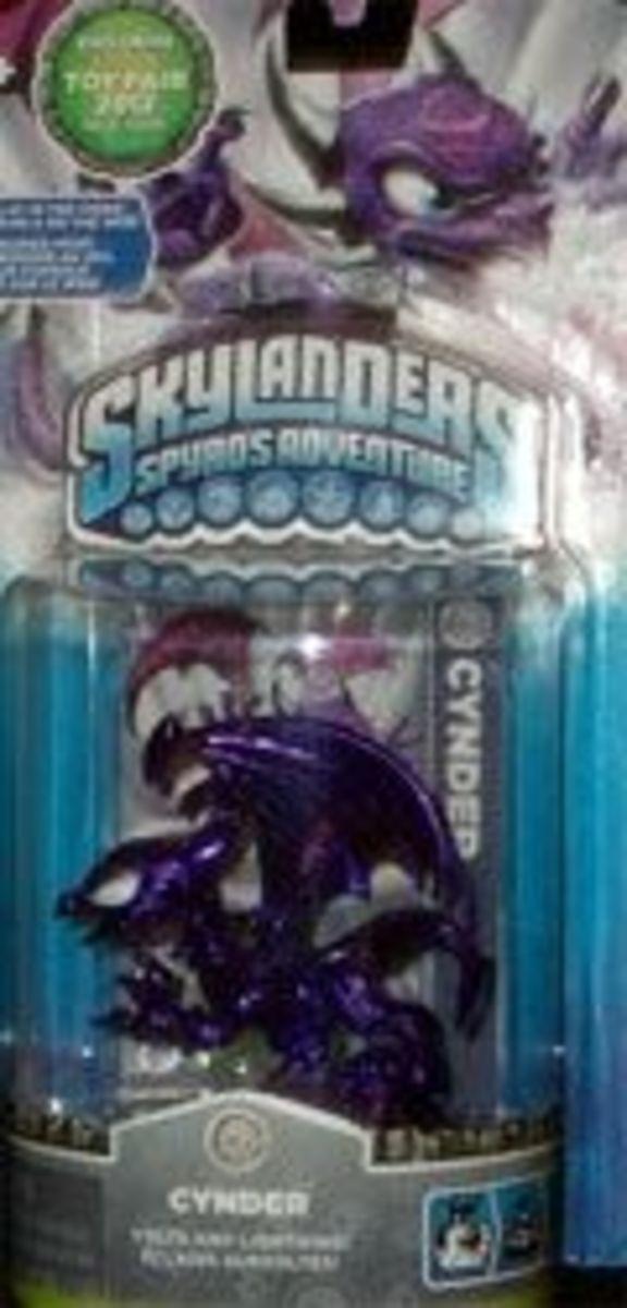 Skylanders Metallic Cynder