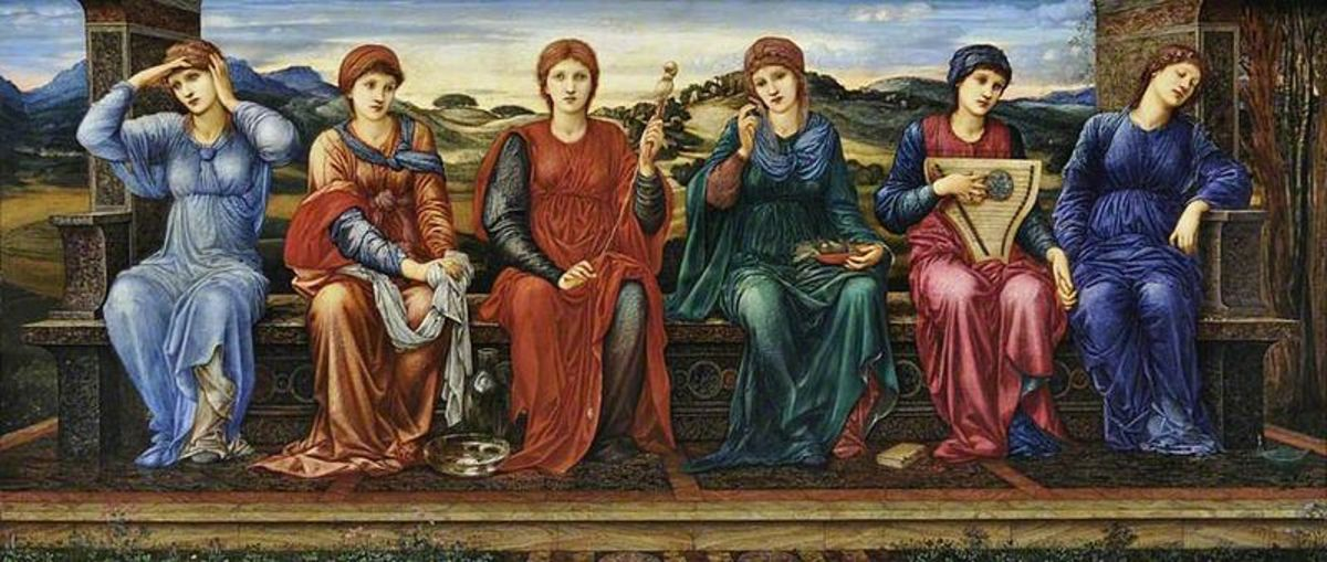 The Hours by Edward Burne Jones