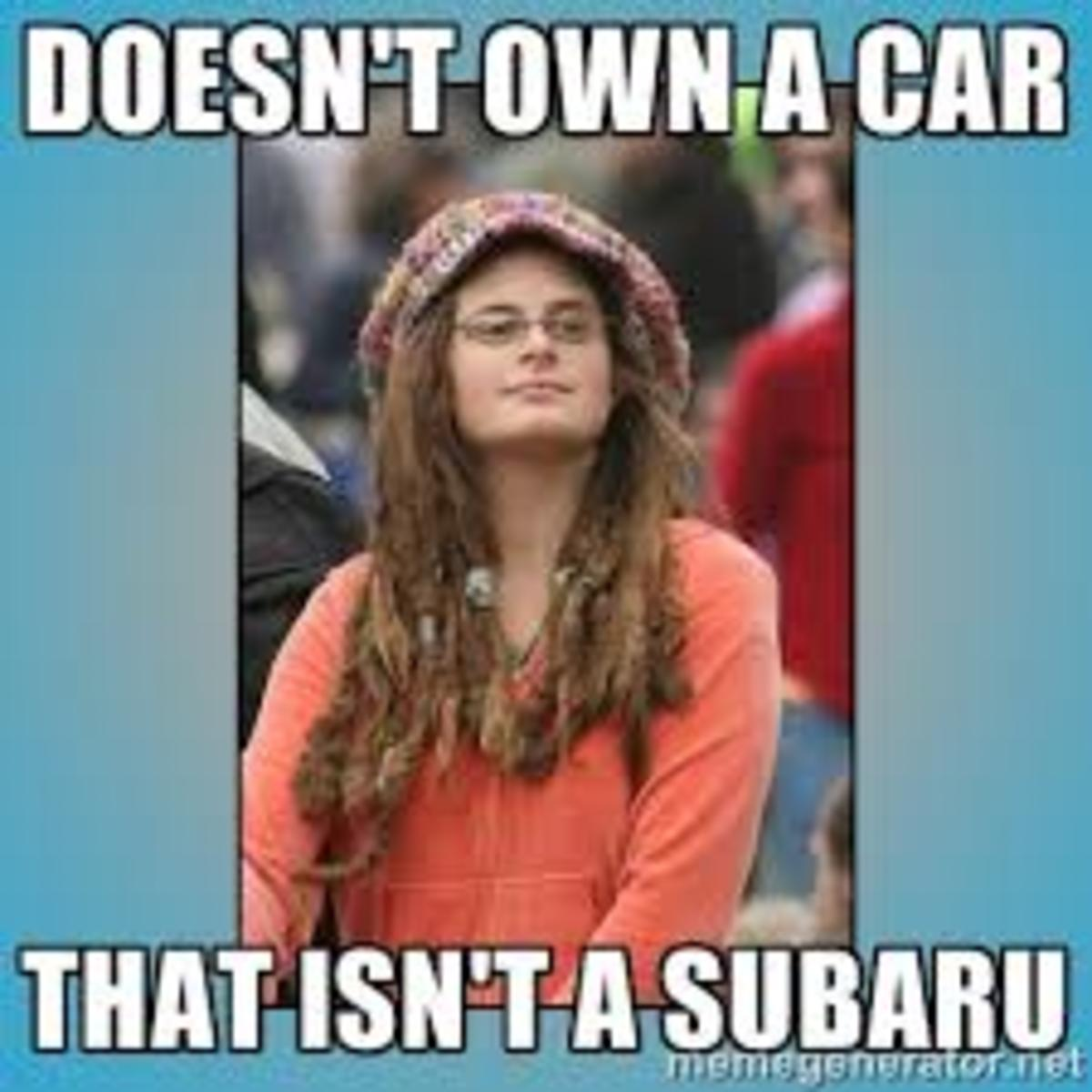 Hippy Subaru Owner