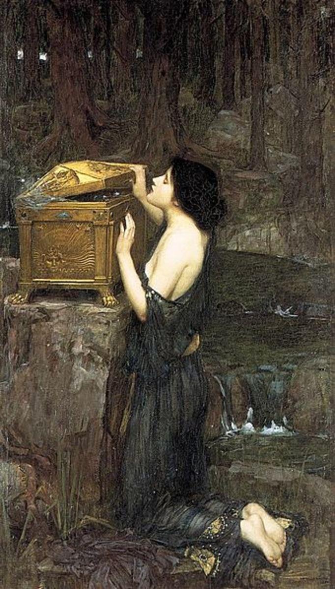 John William Waterhouse (1849–1917) PD-art-100