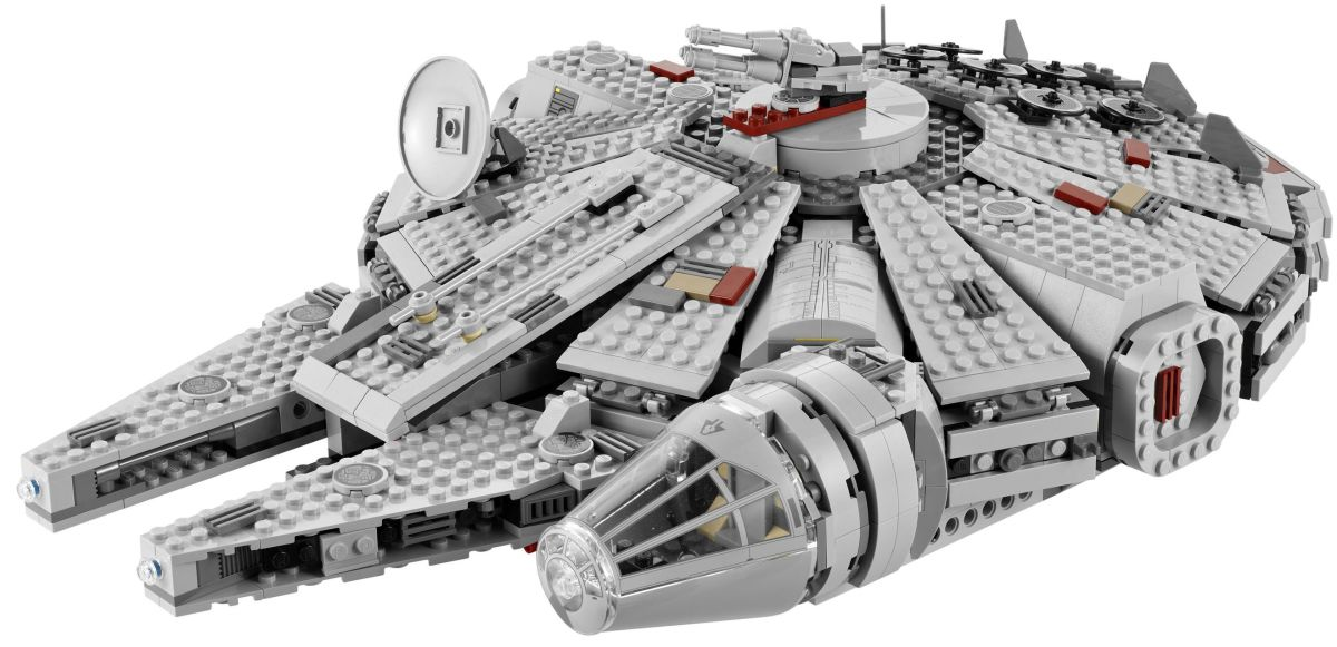 LEGO Star Wars Millennium Falcon 7965 Assembled