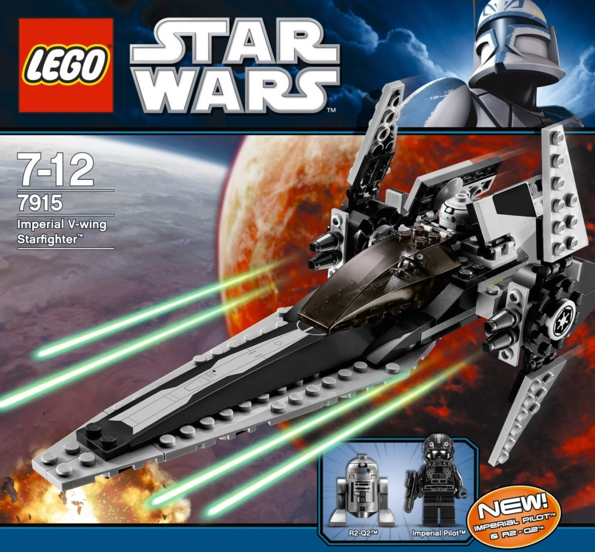 LEGO Star Wars Imperial V-Wing Starfighter 7915 Box