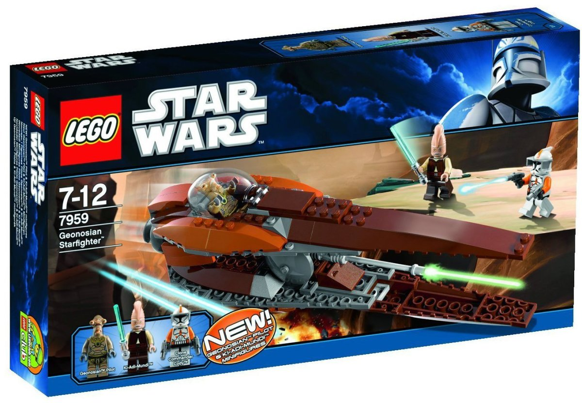 LEGO Star Wars Geonosian Starfighter Box
