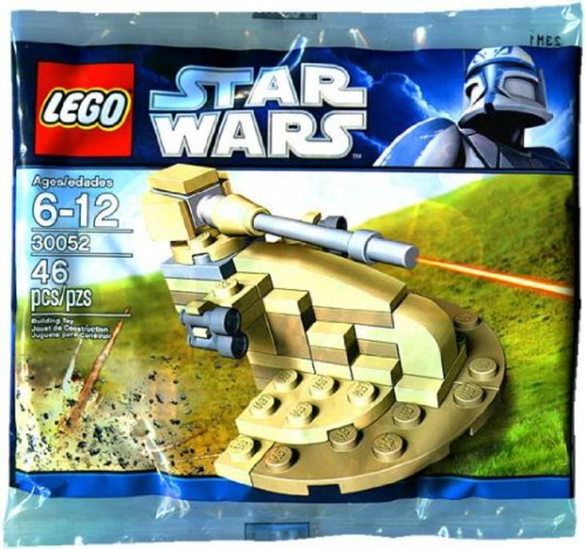 LEGO Star Wars AAT 30052 Box