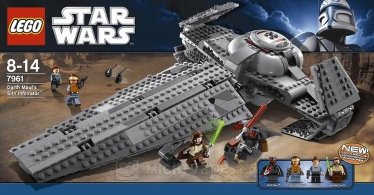 LEGO Star Wars Darth Maul's Sith Infiltrator 7961  Box