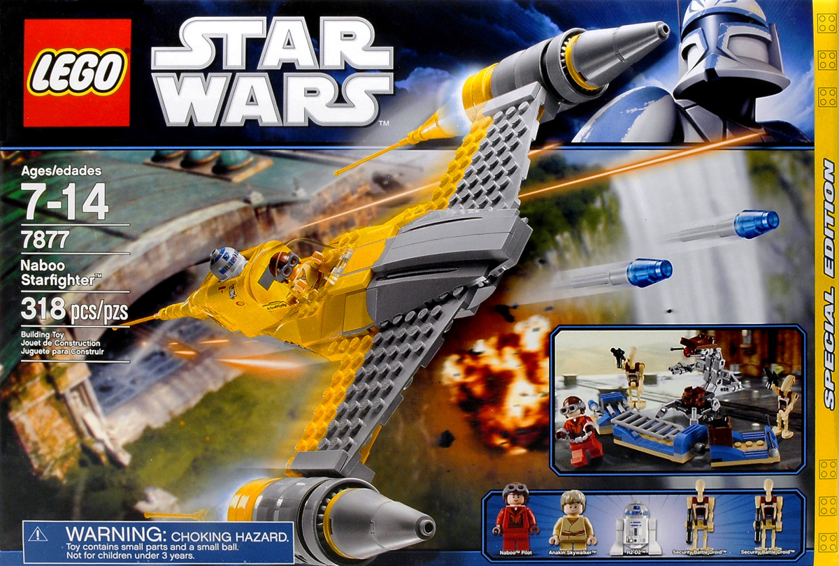 LEGO Star Wars Naboo Starfighter 7877 Box