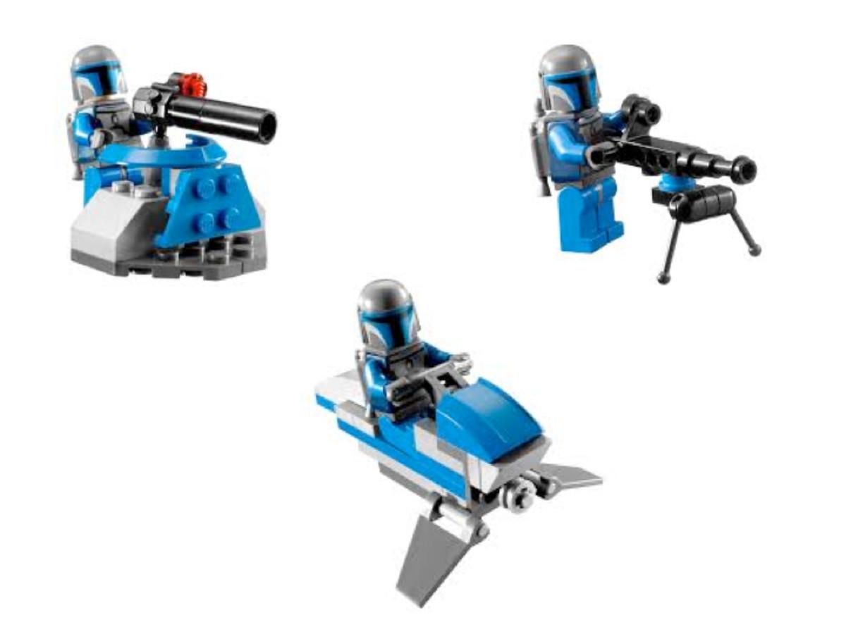 LEGO Star Wars Mandalorian Battle Pack 7914 Assembled