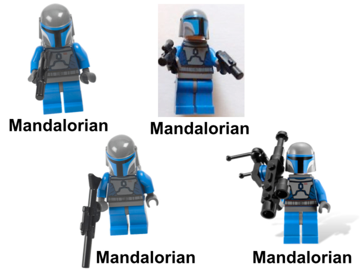 LEGO Star Wars Mandalorian Battle Pack 7914 Minifigures