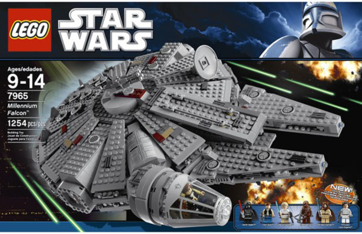 LEGO Star Wars Millennium Falcon 7965 Box