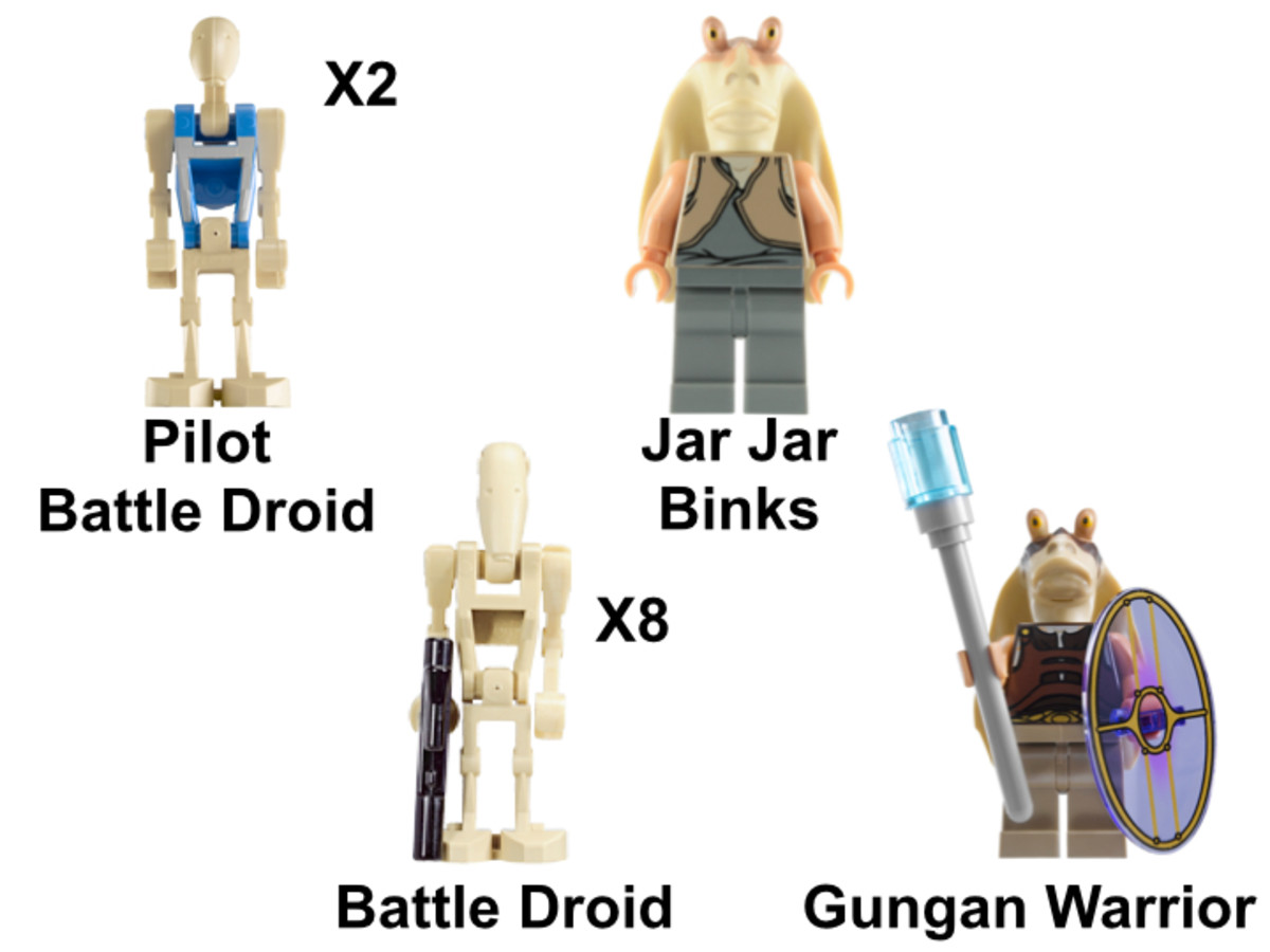 LEGO Star Wars The Battle of Naboo 7929 Minifigures