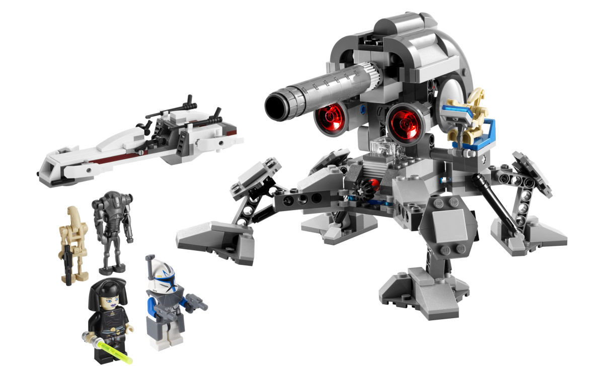 LEGO Star Wars Battle For Geonosis 7869 Assembled