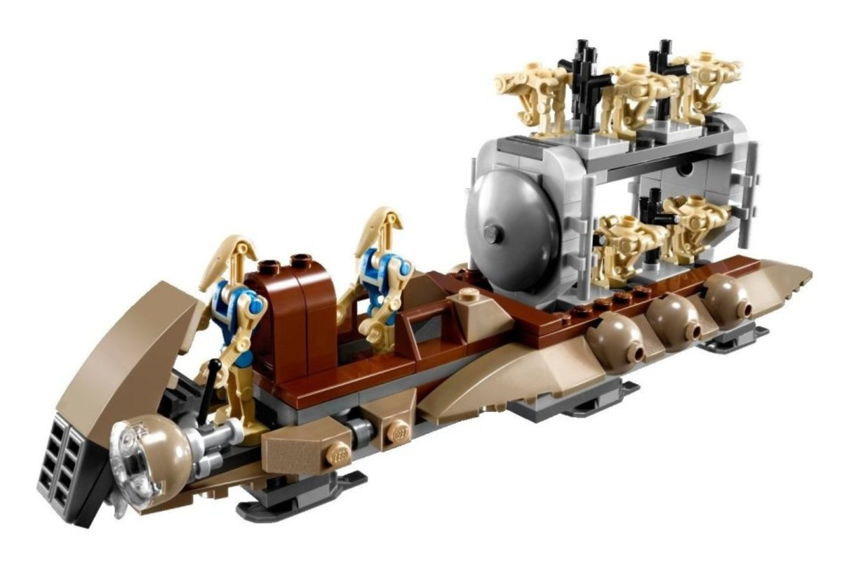 LEGO Star Wars The Battle of Naboo 7929 Assembled