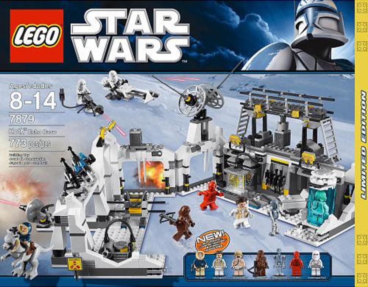 LEGO Star Wars Hoth Echo Base 7879 Box