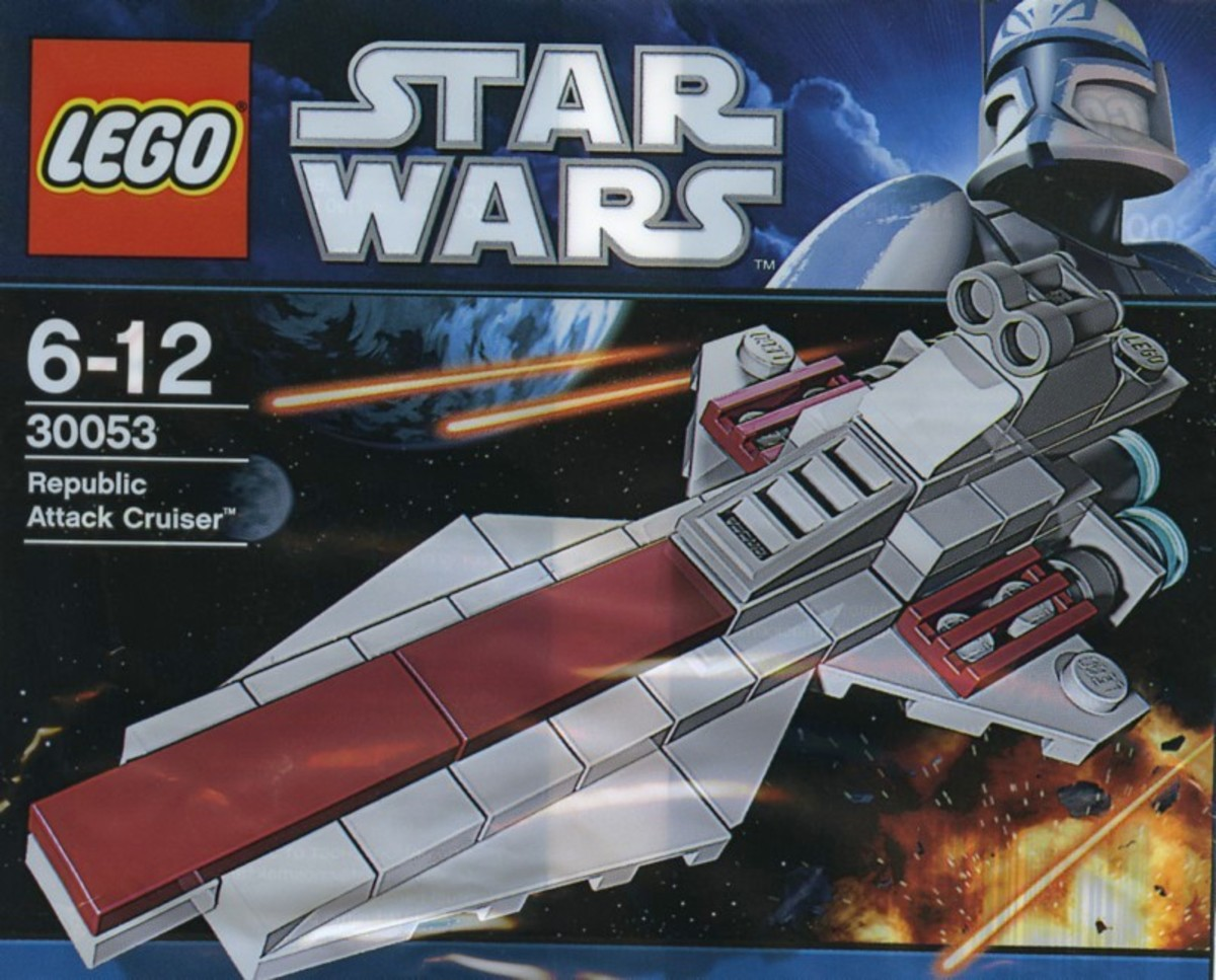 LEGO Star Wars Vector Class Republic Attack Cruiser 30053 Bag
