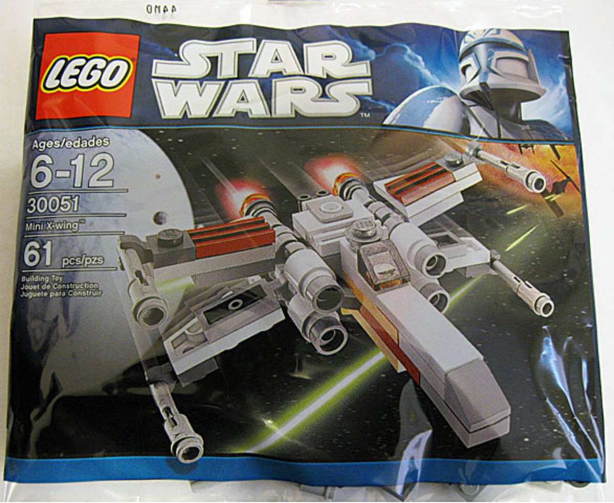 LEGO Star Wars X-Wing 30051 Bag