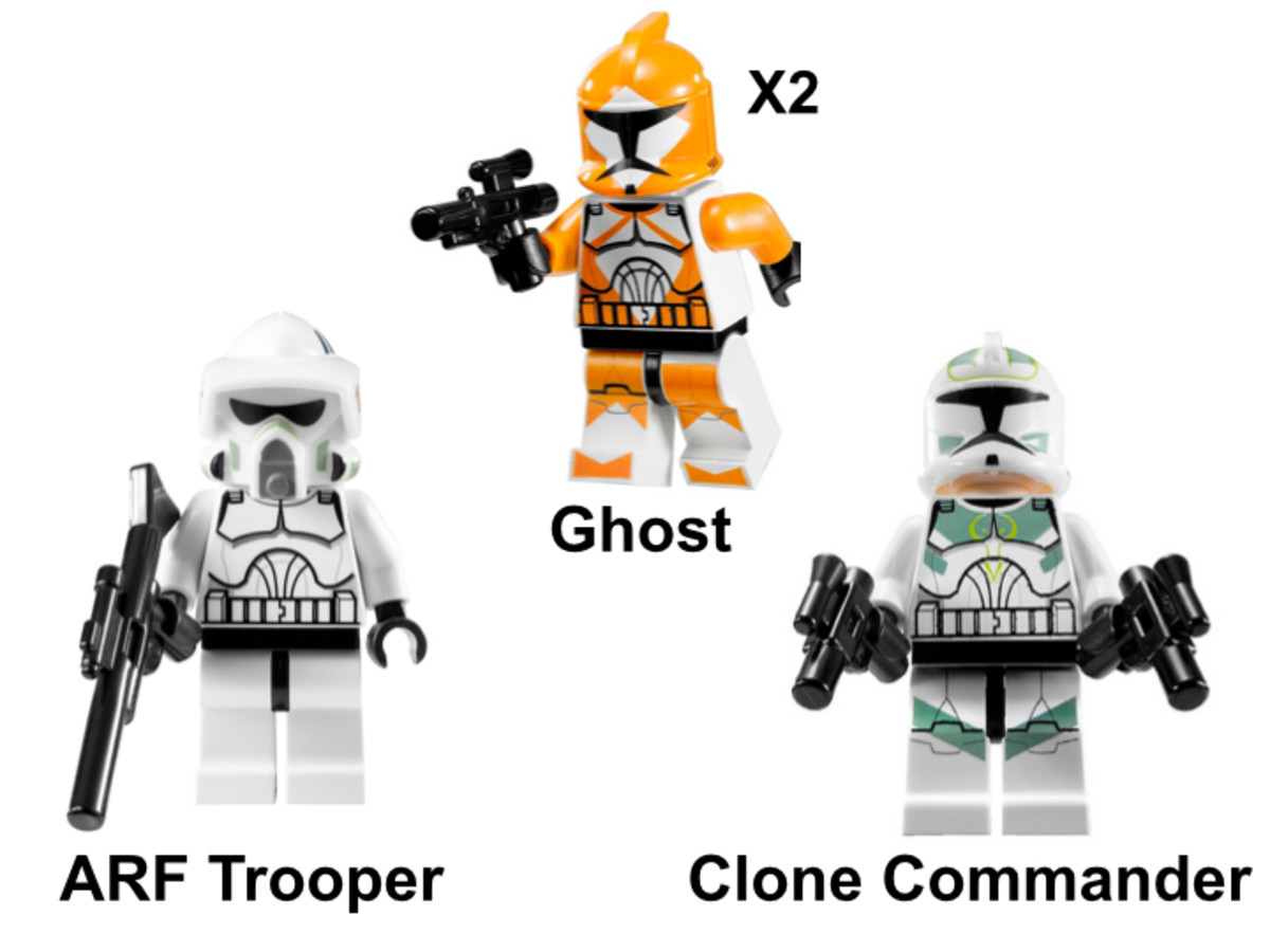LEGO Star Wars Clone Trooper Battle Pack 7913 Minifigures