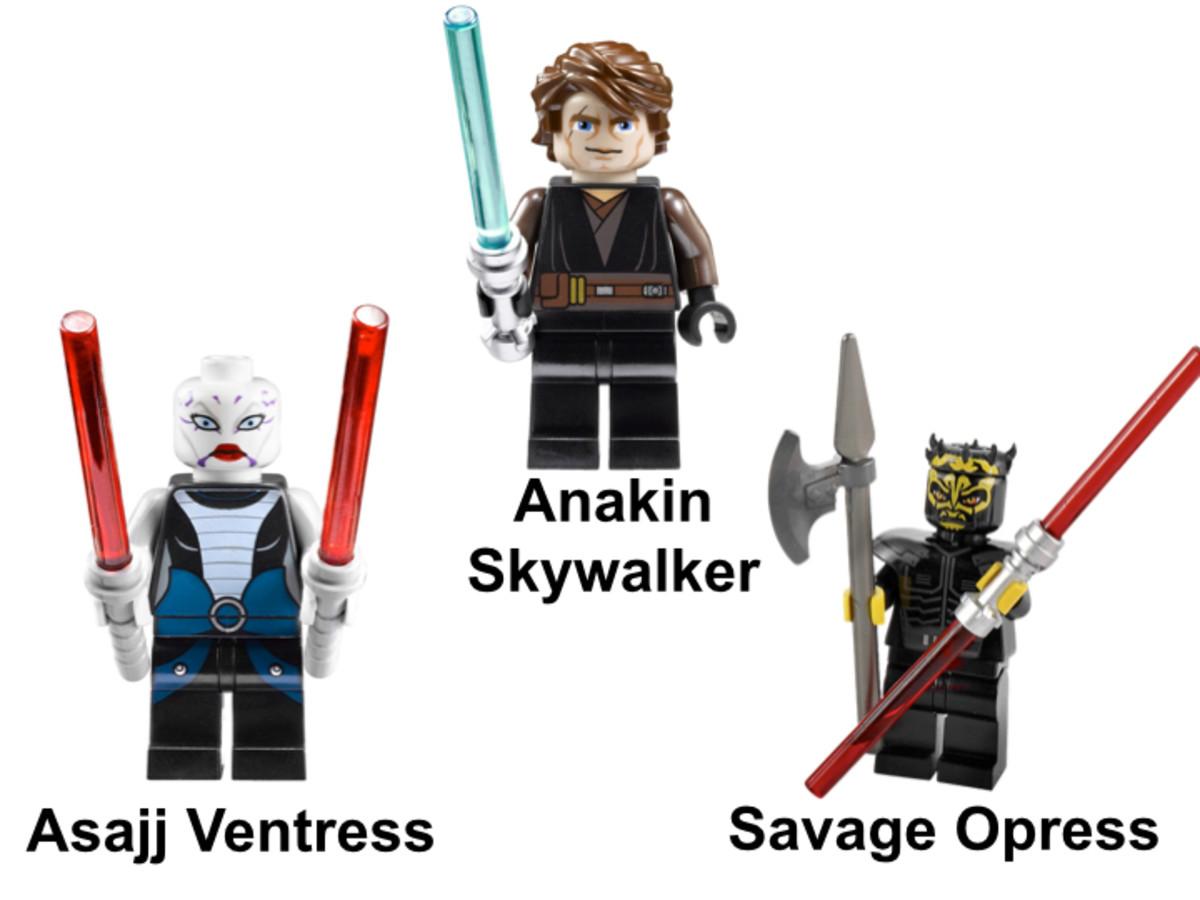 LEGO Star Wars Sith Nightspeeder 7957 Minifigures