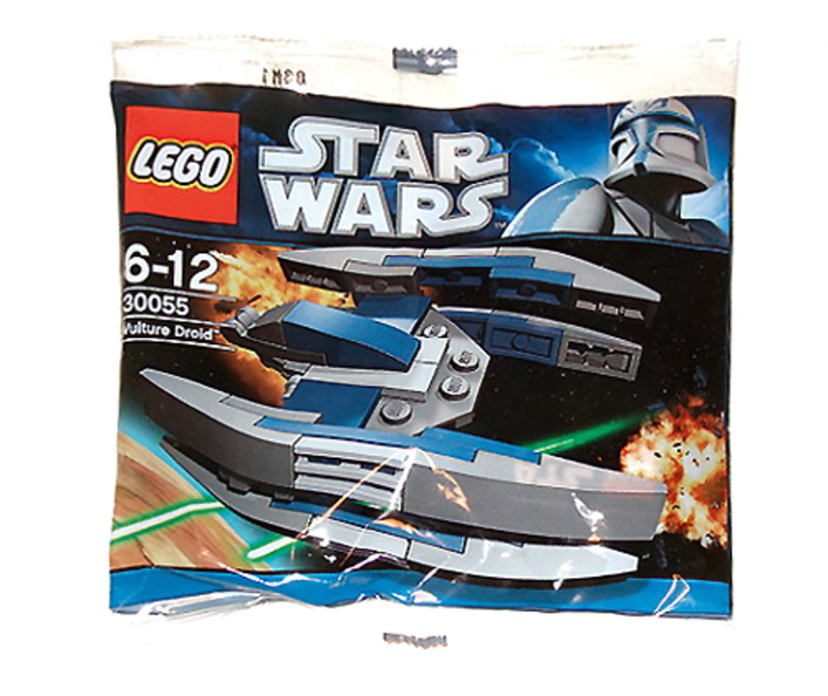 LEGO Star Wars Droid Fighter 30055 Box