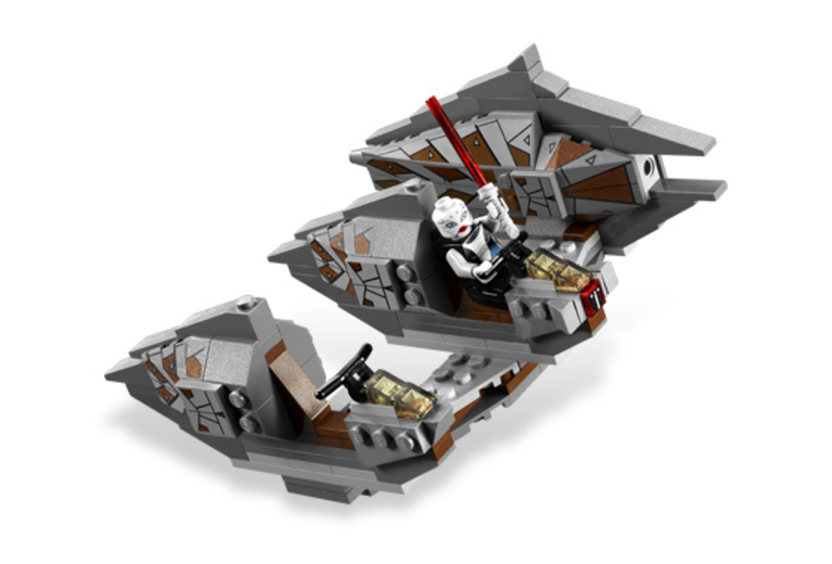 LEGO Star Wars Sith Nightspeeder 7957 Assembled