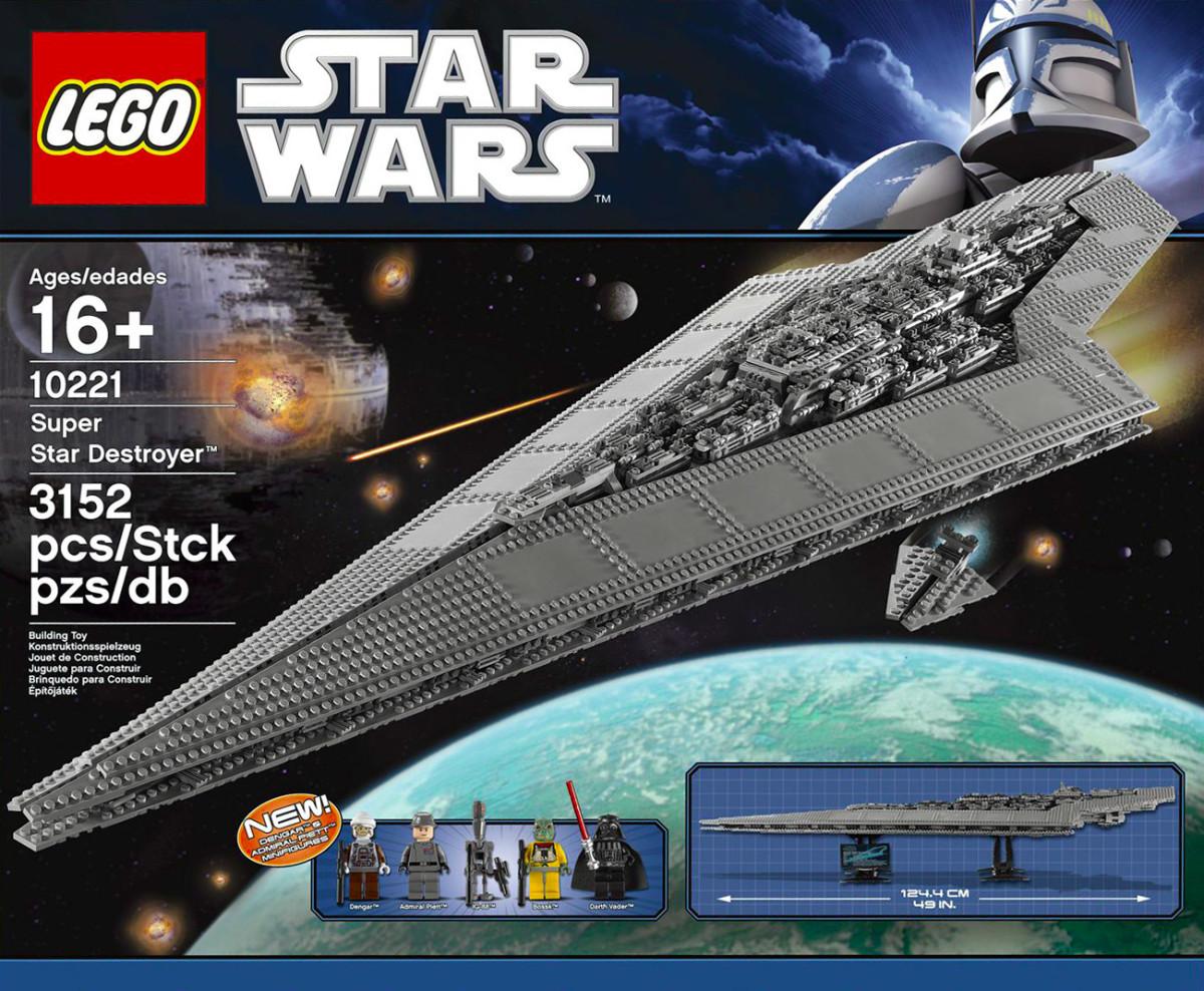 LEGO Star Wars Super Star Destroyer 10221 Box