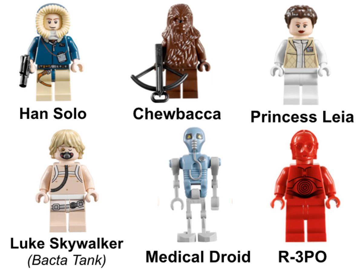 LEGO Star Wars Hoth Echo Base 7879 Rebel Minifigures