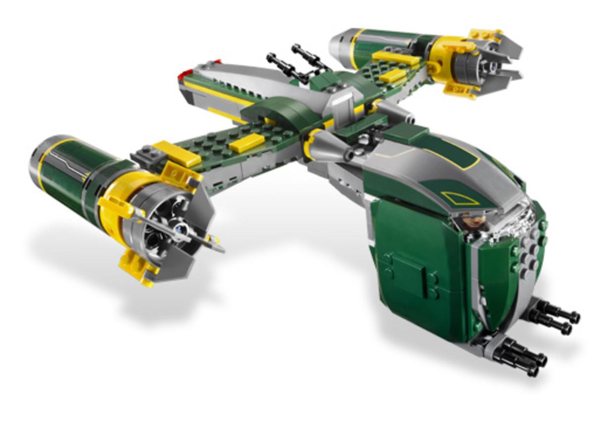 LEGO Star Wars Bounty Hunter Assault Gunship 7930 Assembled