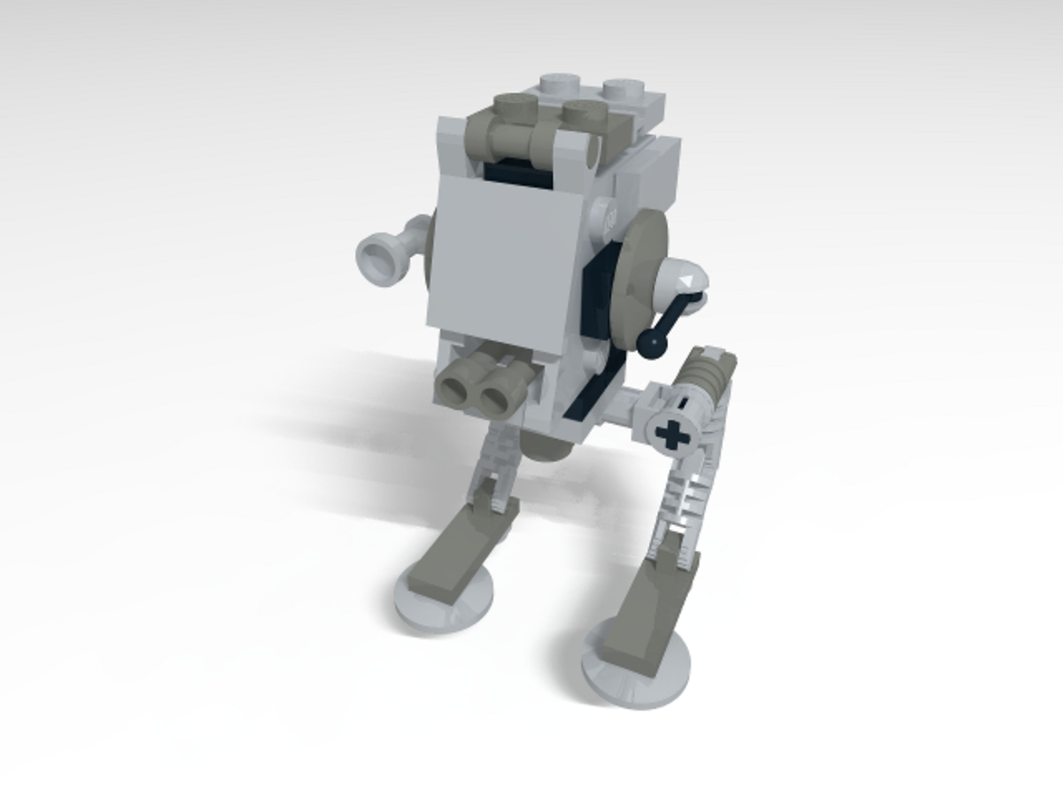 LEGO Star Wars AT-ST 30054 Assembled