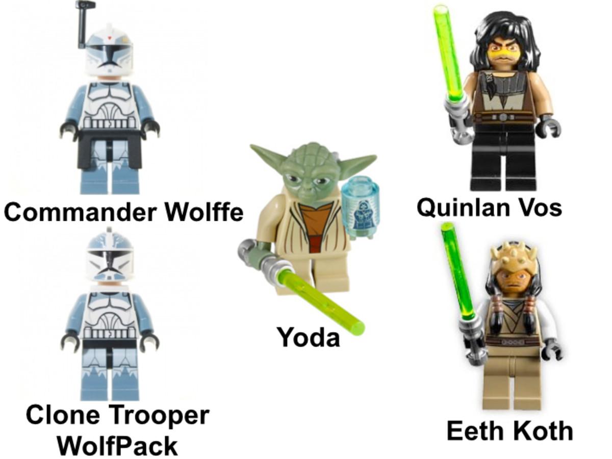LEGO Star Wars Republic Frigate 7964 Minifigures