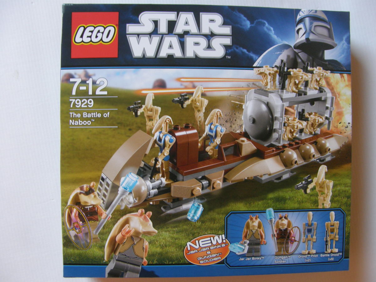 LEGO Star Wars The Battle of Naboo 7929 Box