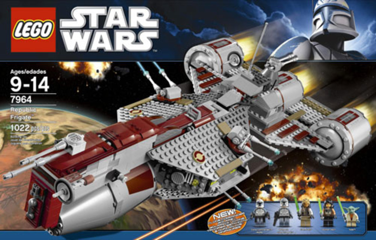 LEGO Star Wars Republic Frigate 7964 Box