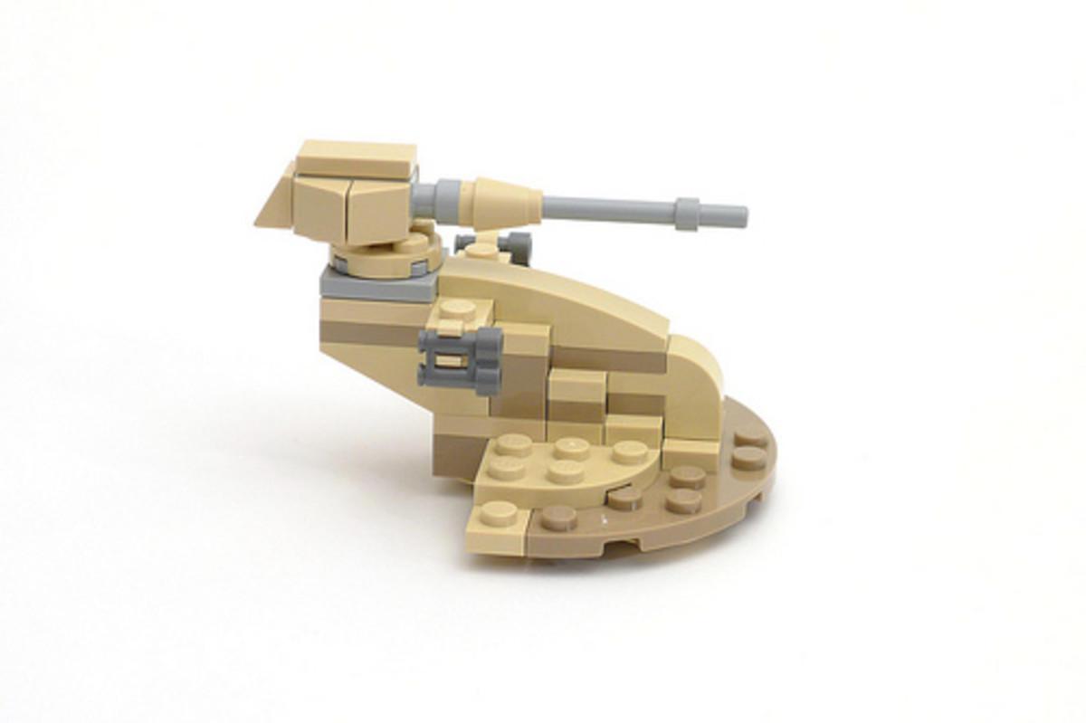 LEGO Star Wars AAT 30052 Assembled