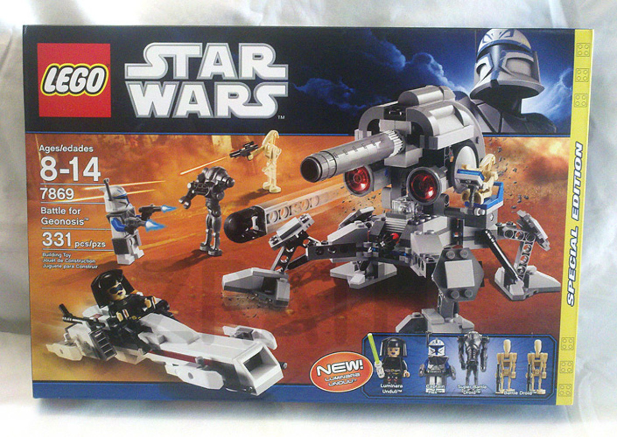 LEGO Star Wars Battle For Geonosis 7869 Box