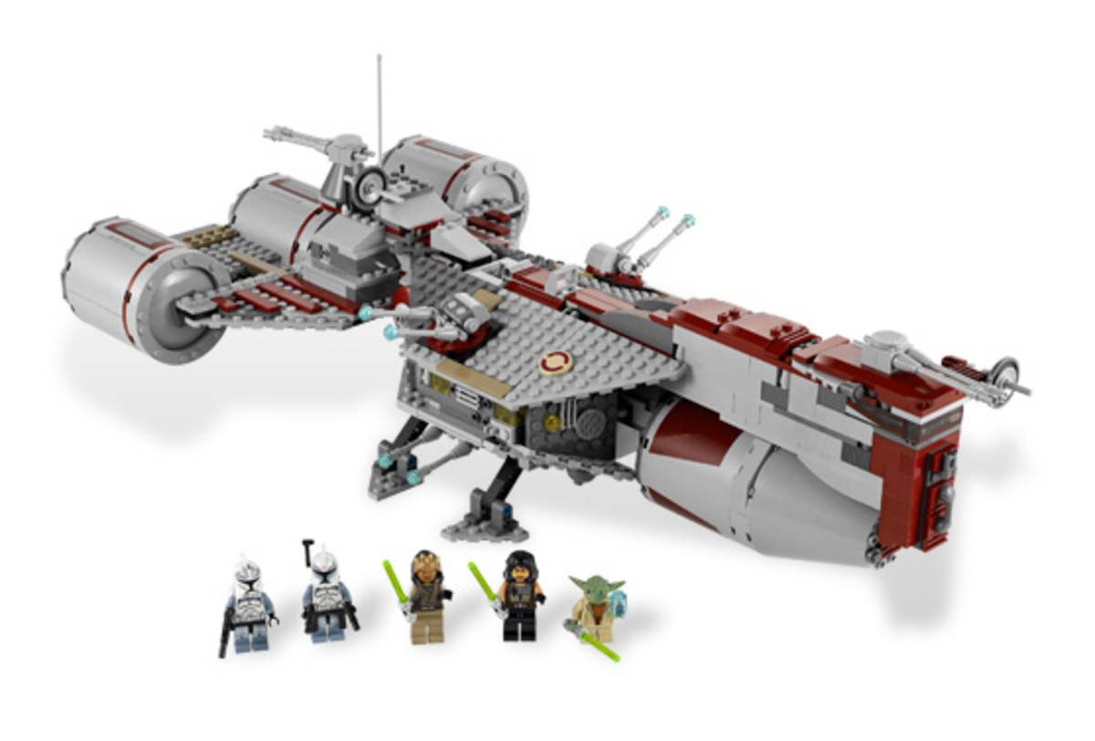 LEGO Star Wars Republic Frigate 7964 Assembled