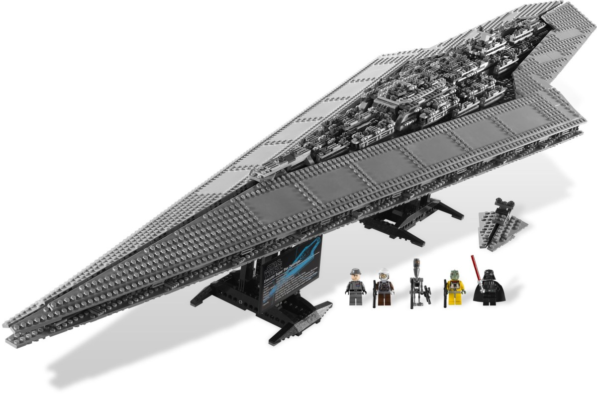 LEGO Star Wars Super Star Destroyer 10221 Assembled