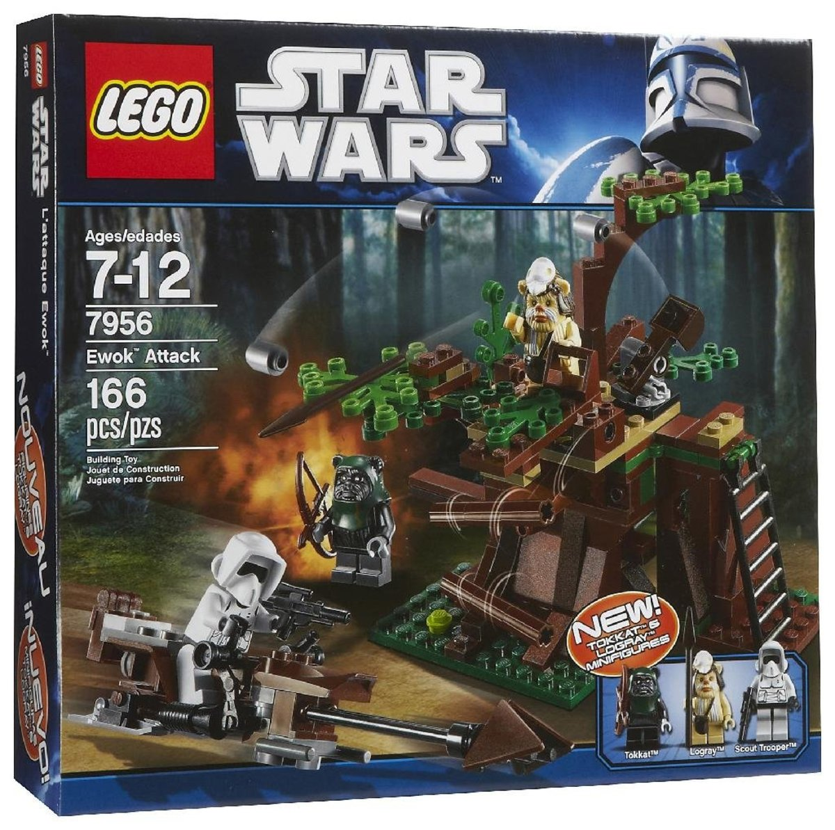 LEGO Star Wars Ewok Attack 7956 Box