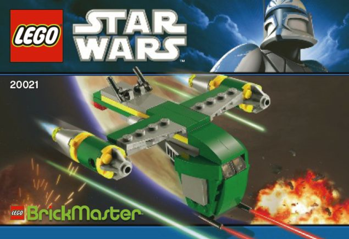 LEGO Star Wars Bounty Hunter Assault Gunship 20021 Box
