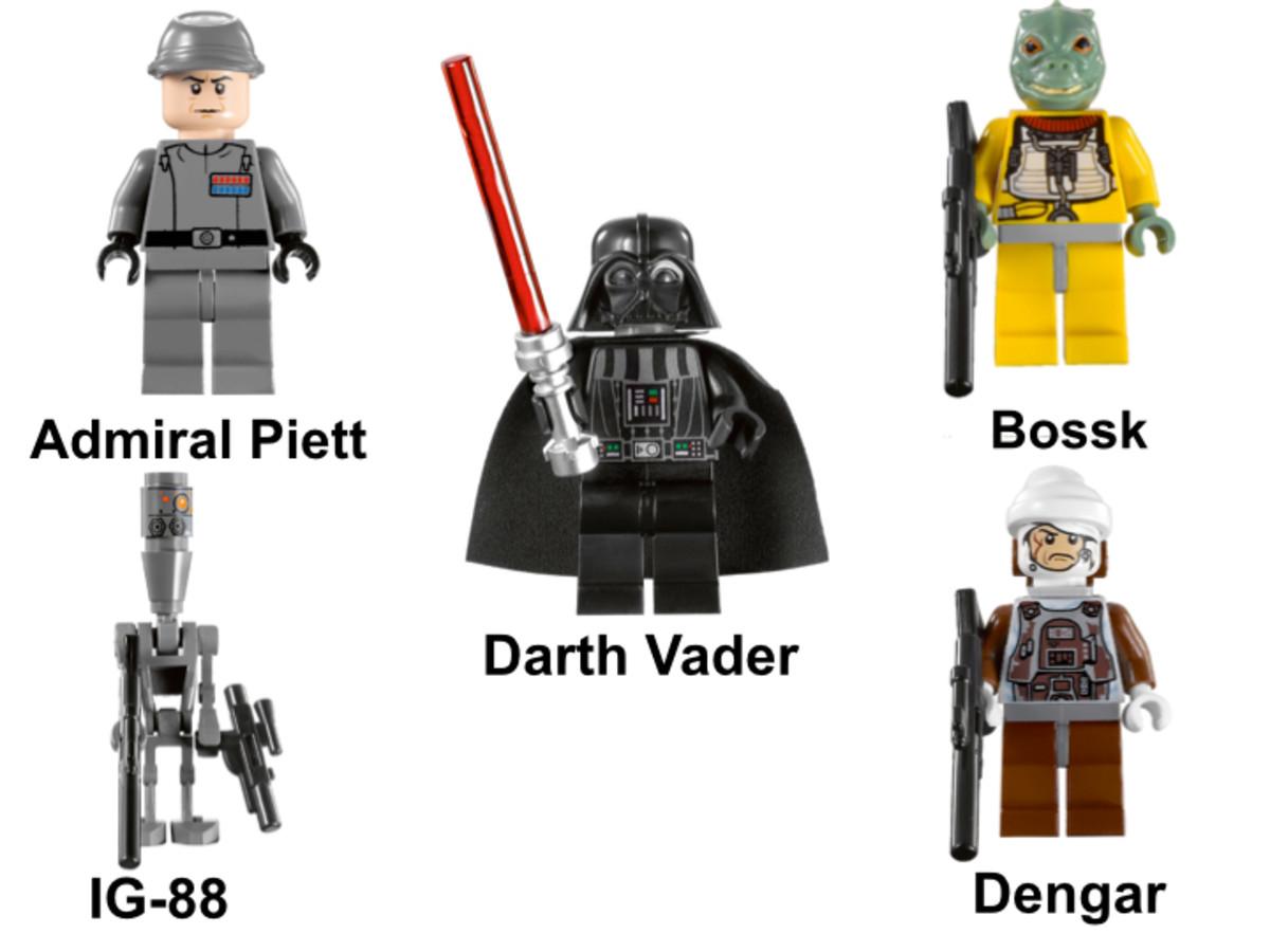 LEGO Star Wars Super Star Destroyer 10221 Minifigures