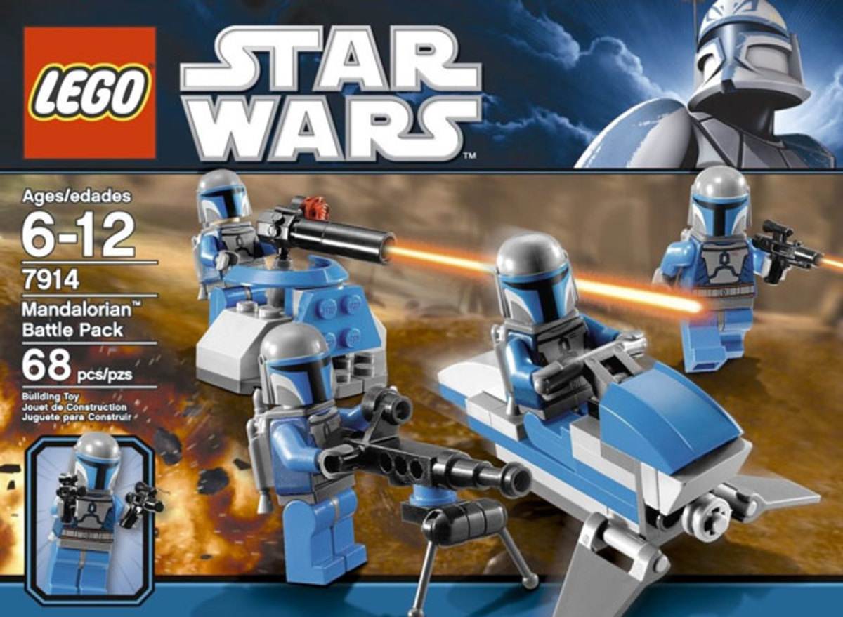 LEGO Star Wars Mandalorian Battle Pack 7914 Box