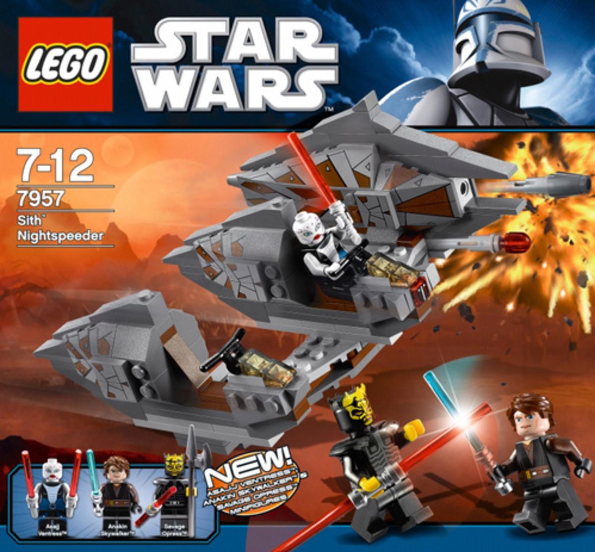 LEGO Star Wars Sith Nightspeeder 7957 Box