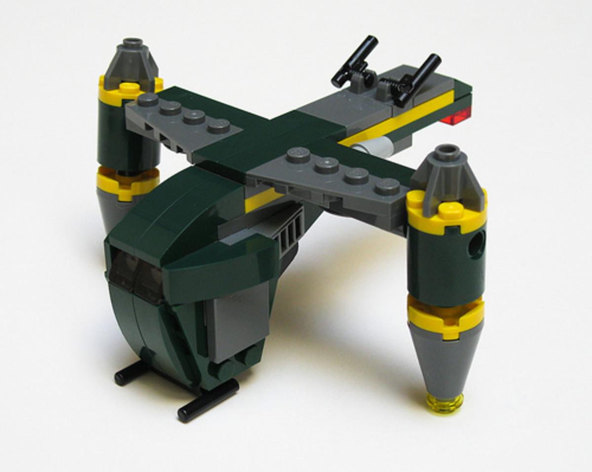 LEGO Star Wars Bounty Hunter Assault Gunship 20021 Built