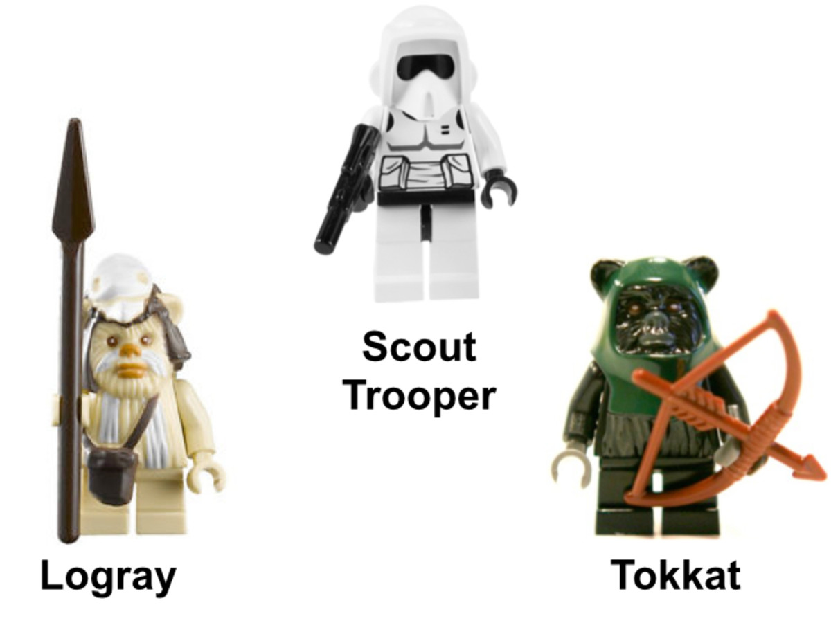 LEGO Star Wars Ewok Attack 7956 Minifigures