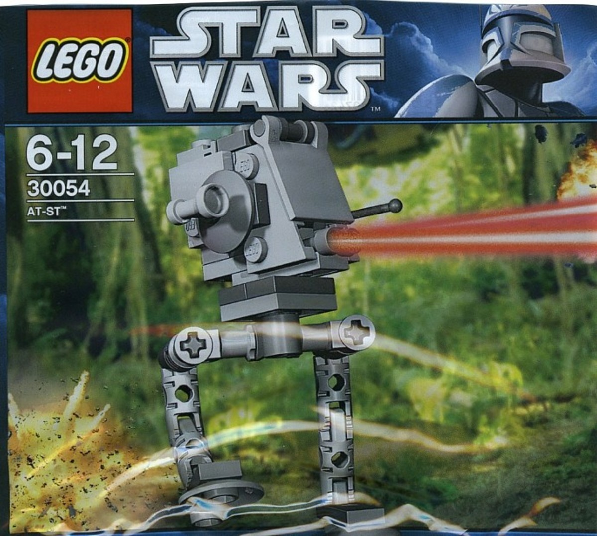 LEGO Star Wars AT-ST 30054 Box