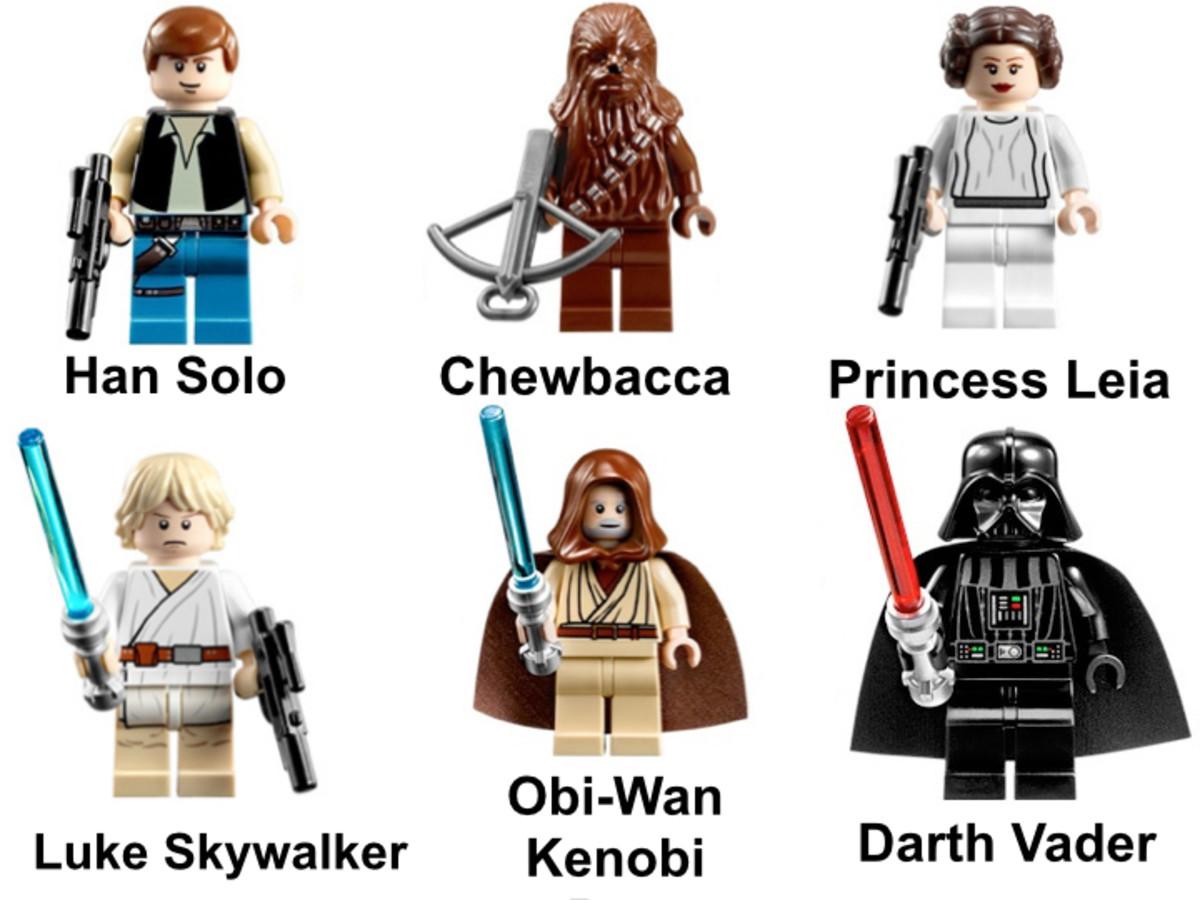 LEGO Star Wars Millennium Falcon 7965 Minifigures