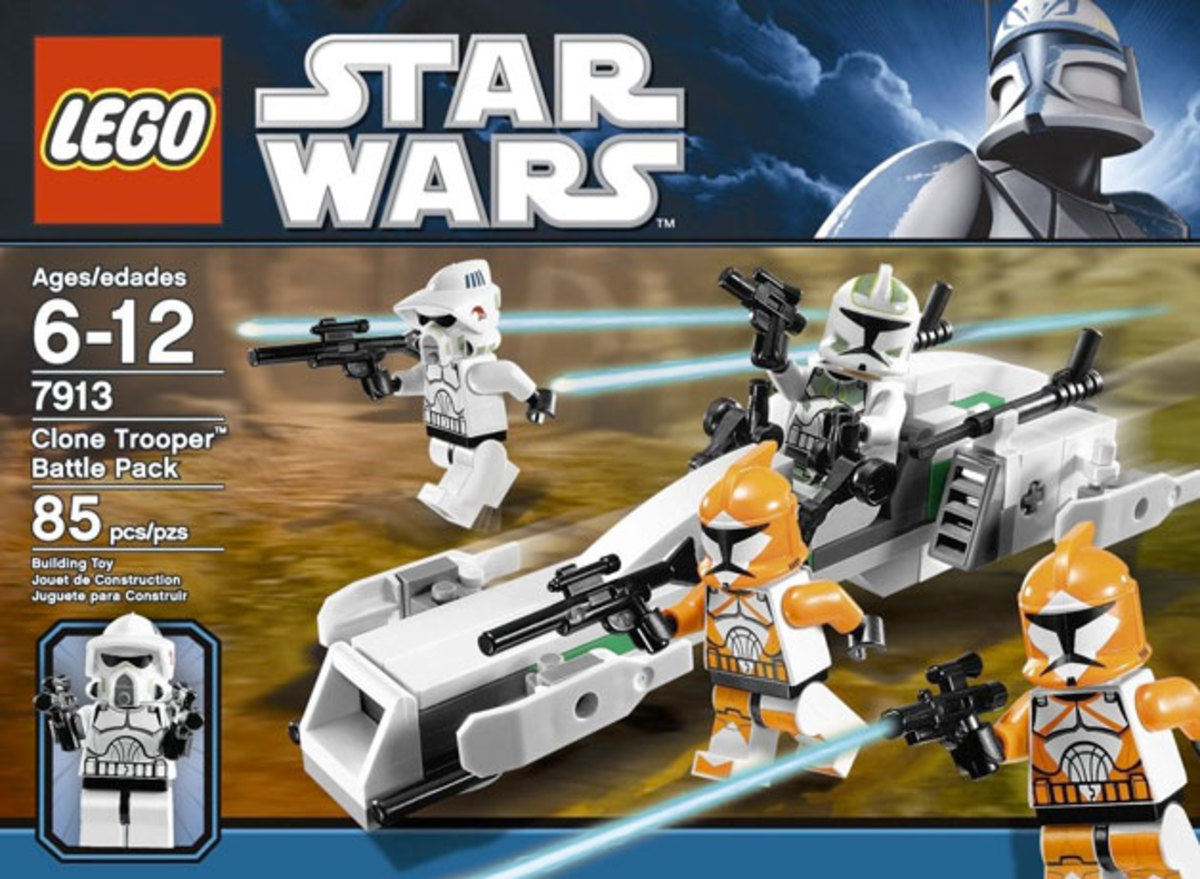 LEGO Star Wars Clone Trooper Battle Pack 7913 Box