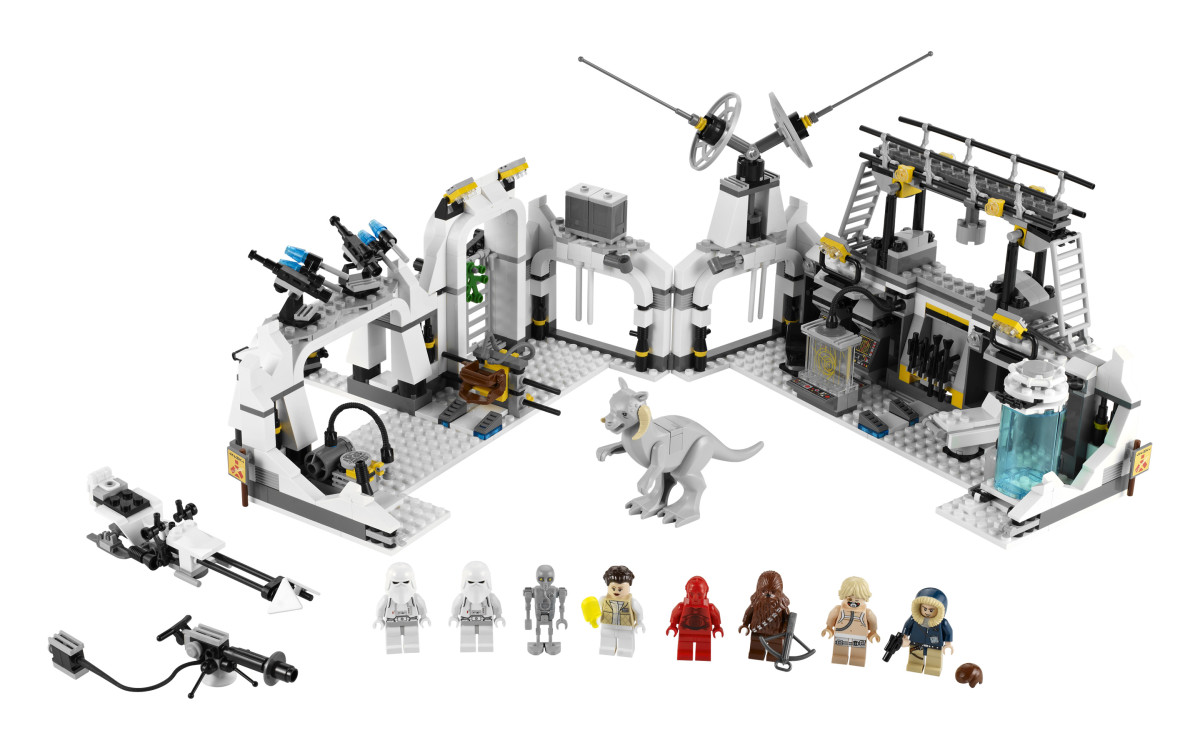 LEGO Star Wars Hoth Echo Base 7879 Assembled
