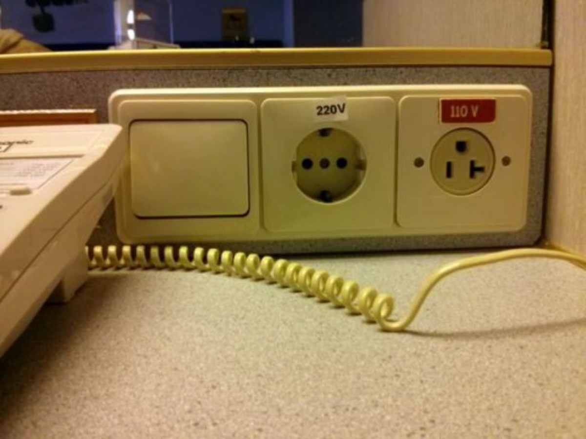 This is the power point outlet used on Superstar Libra ship
