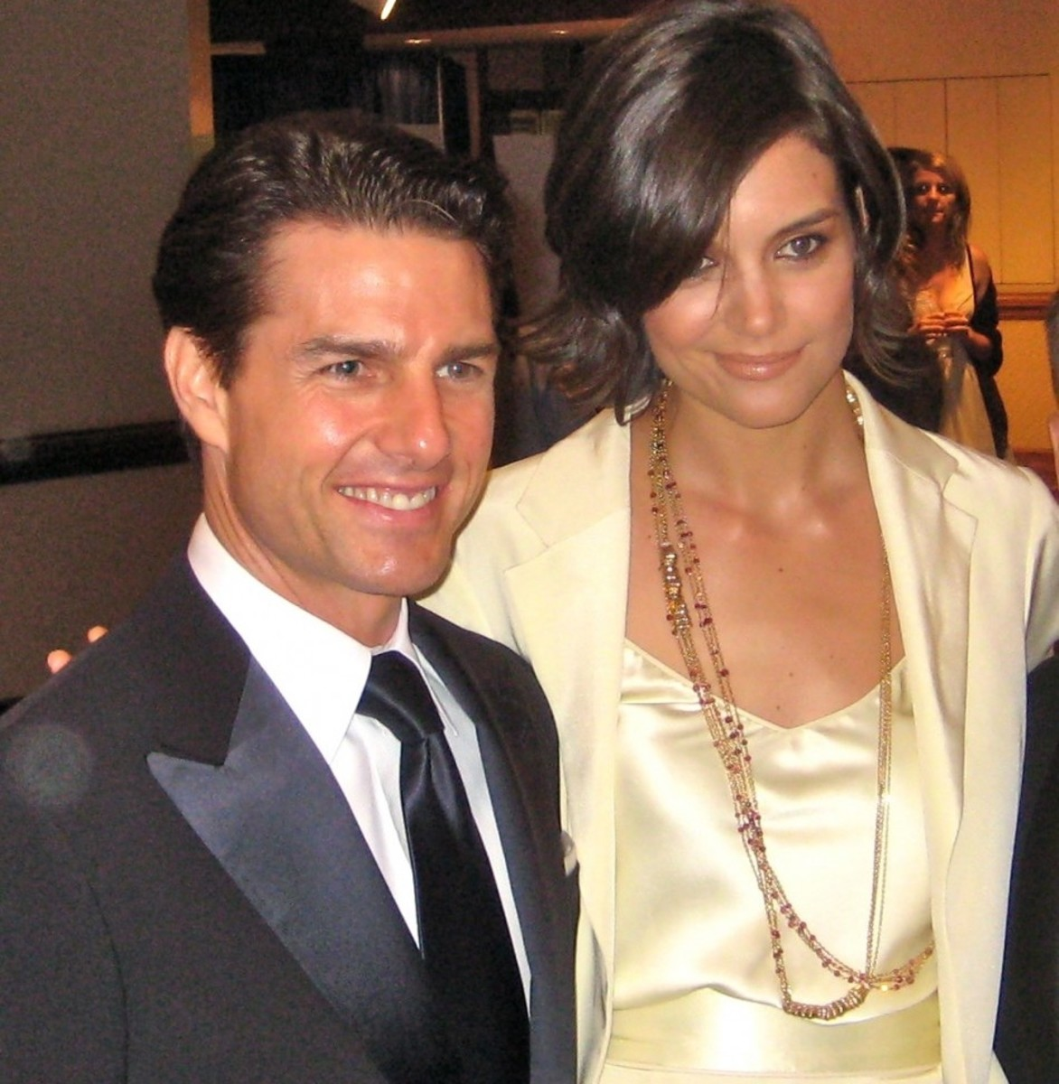 Tom Cruise & Katy Holmes before Divorce