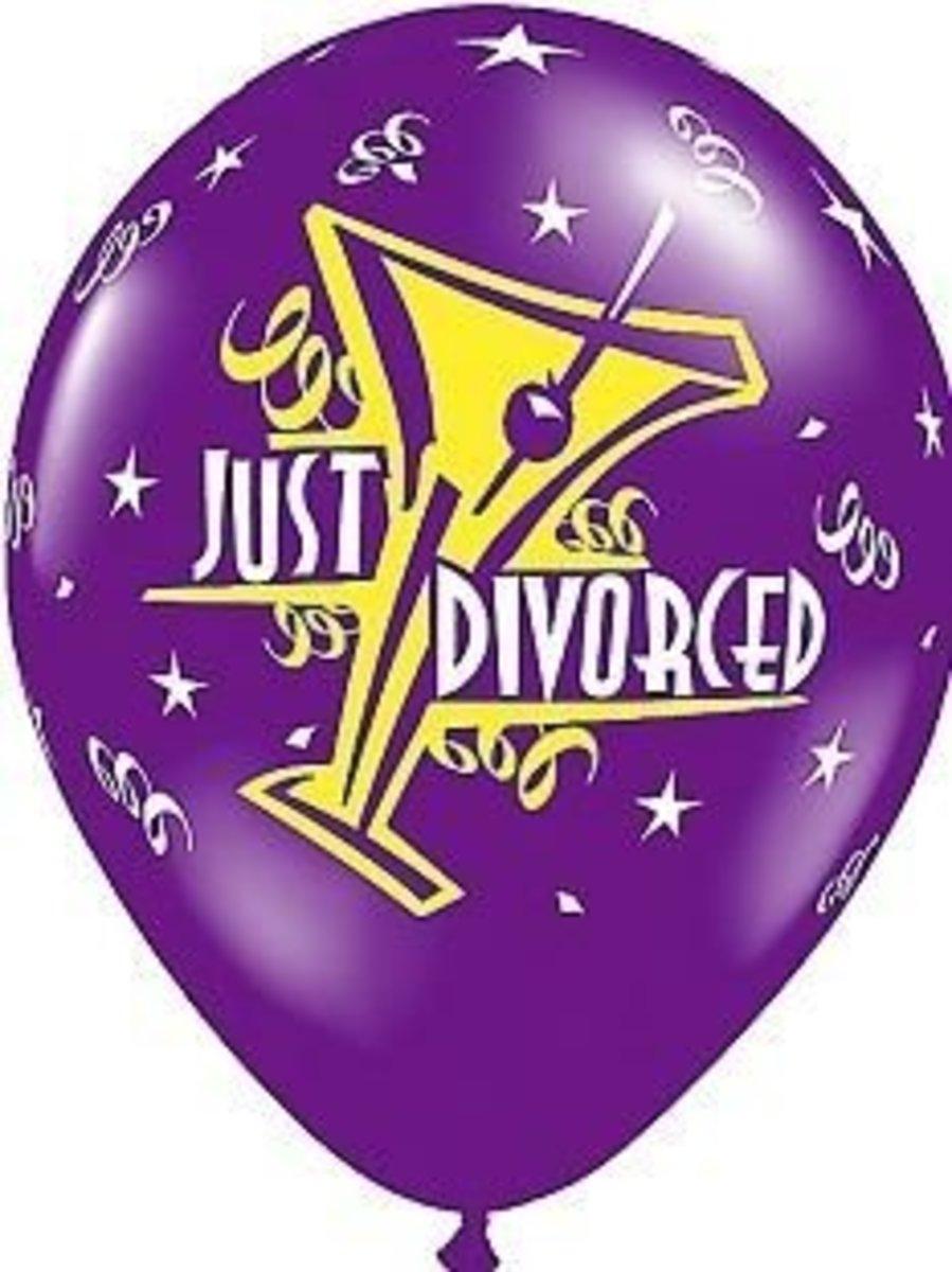 Just Divorced Balloon